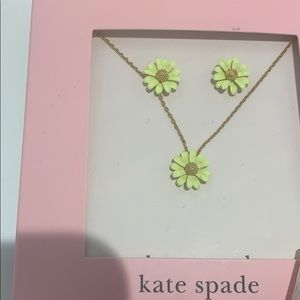 Kate spade necklace set